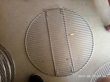 圆形不锈钢烧烤网格
