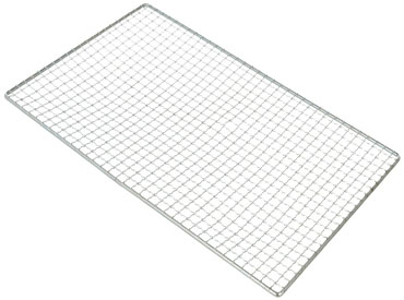 镀铬烧烤网片|长方形烧烤网架|铁丝网托盘