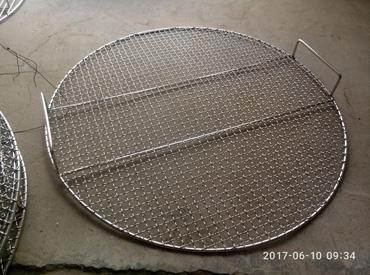 烧烤桌篦子 烧烤炉网片 不锈钢烧烤网格